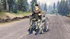 Acceso para sillas de ruedas para Spin Tires