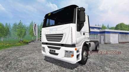 Iveco Stralis V8 LowCab para Farming Simulator 2015