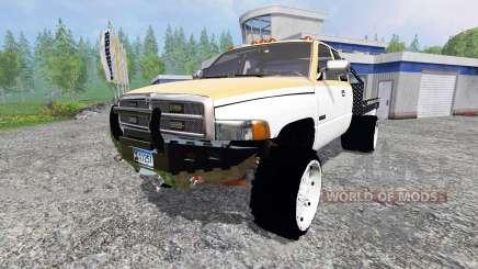 Dodge Ram 2500 [flatbed] para Farming Simulator 2015