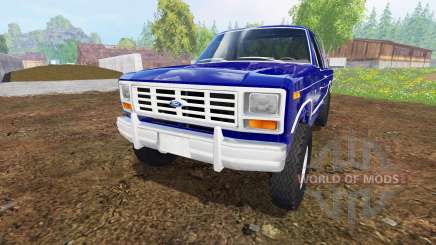 Ford Ranger F-150 1981 para Farming Simulator 2015