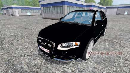 Audi A4 Police para Farming Simulator 2015