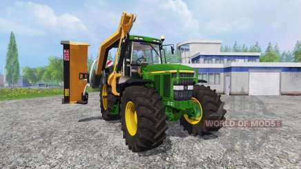 John Deere 7810 [mount mower] para Farming Simulator 2015