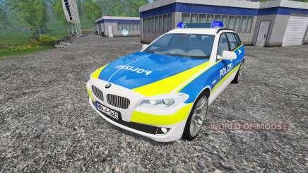 BMW 520d Police para Farming Simulator 2015
