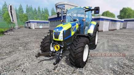 New Holland T5.115 Police para Farming Simulator 2015