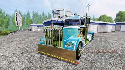 Kenworth W900A para Farming Simulator 2015