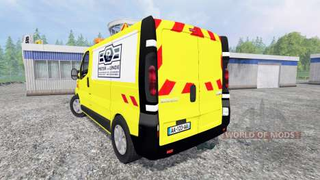 Renault Trafic [Pieter vd Linde] para Farming Simulator 2015