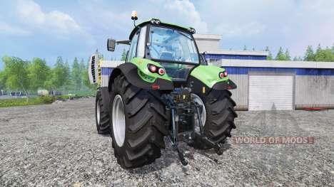 Deutz-Fahr Agrotron 7250 TTV [real engine] para Farming Simulator 2015