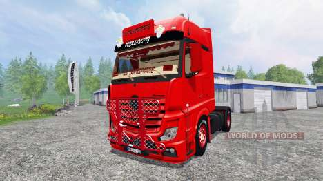Mercedes-Benz Actros MP4 para Farming Simulator 2015