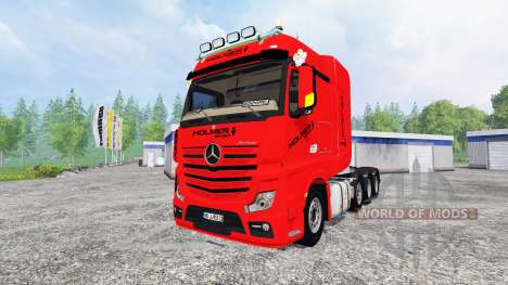 Mercedes-Benz Actros MP4 SLT para Farming Simulator 2015