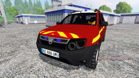 Dacia Duster VLHR para Farming Simulator 2015