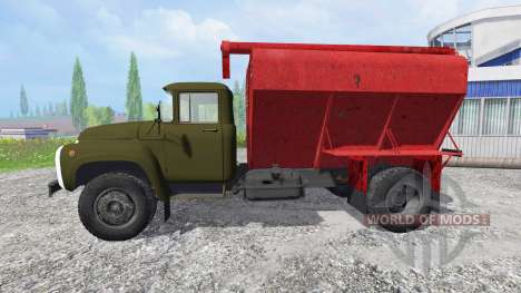 ZIL-130 DE ZSK-100 para Farming Simulator 2015