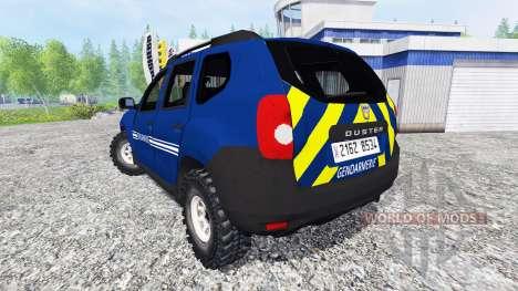 Dacia Duster [gendarmerie] para Farming Simulator 2015