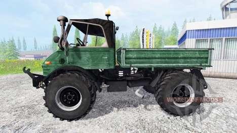 Mercedes-Benz Unimog U84 para Farming Simulator 2015