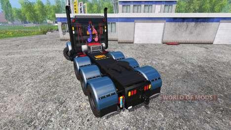 Kenworth T800 v1.1 para Farming Simulator 2015