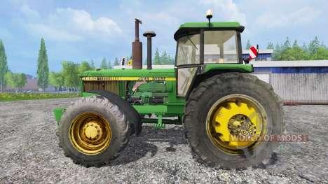 John Deere 4650 v2.0 para Farming Simulator 2015