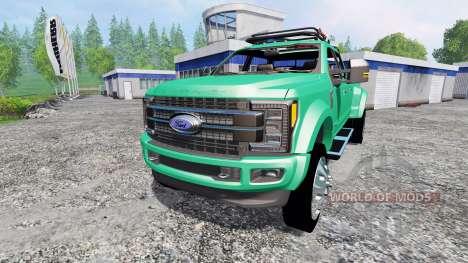 Ford F-450 Super Duty 2017 [platinum edition] para Farming Simulator 2015
