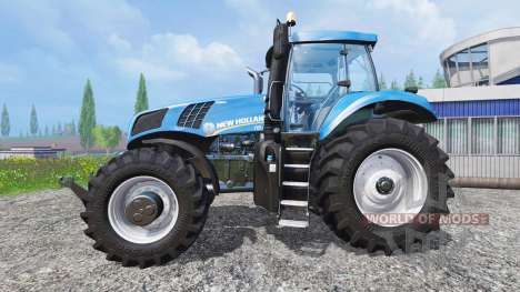 New Holland T8.320 [real engine] para Farming Simulator 2015