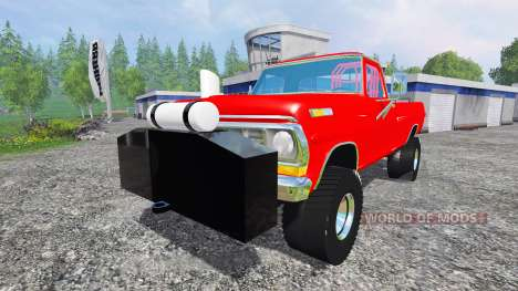 Ford F-250 1972 [highboy puller] para Farming Simulator 2015