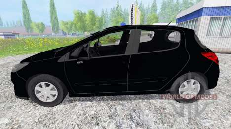 Peugeot 308 [unmarked police] para Farming Simulator 2015