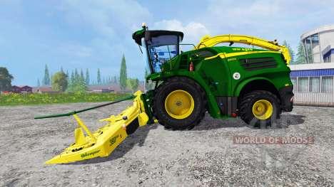 John Deere 8600i para Farming Simulator 2015