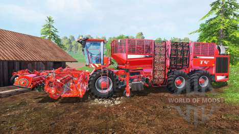 Holmer Terra Dos T4-40 para Farming Simulator 2015