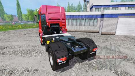 MAN TGS 18.440 [real engine] para Farming Simulator 2015