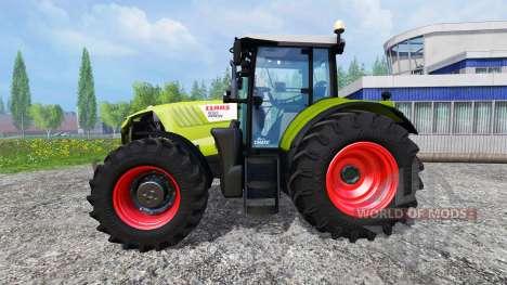 CLAAS Arion 650 v2.7 para Farming Simulator 2015