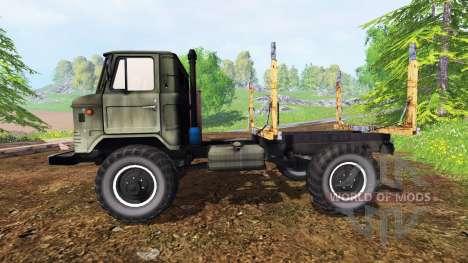 GAZ-66 [de madera] para Farming Simulator 2015