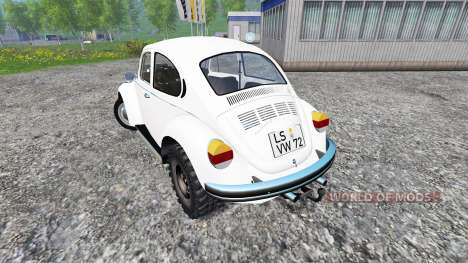 Volkswagen Beetle 1973 [dragster] para Farming Simulator 2015