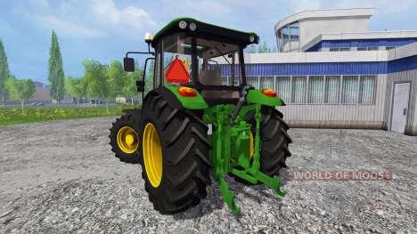John Deere 5085M [washable] para Farming Simulator 2015