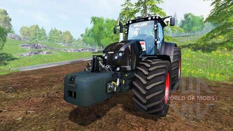 CLAAS Axion 850 [Black Edition] para Farming Simulator 2015