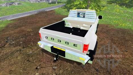 Dodge Power Ram W350 para Farming Simulator 2015