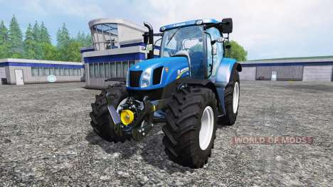 New Holland T6.175 v1.2.2 para Farming Simulator 2015