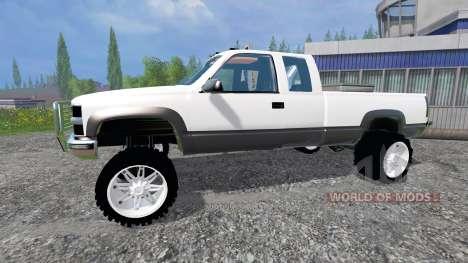 Chevrolet Silverado 1996 v1.1 para Farming Simulator 2015