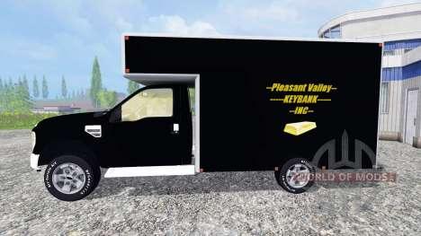 Ford F-250 [PV Rivers Goldtransporter] para Farming Simulator 2015