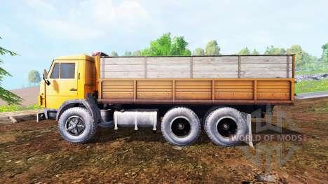 KamAZ-55102 para Farming Simulator 2015