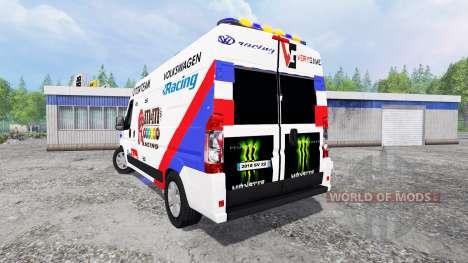 Peugeot Boxer [racing] para Farming Simulator 2015