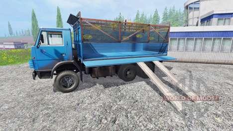 KamAZ-55102 v2.0 para Farming Simulator 2015