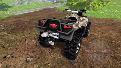 Can-Am Outlander 1000 XT para Farming Simulator 2015