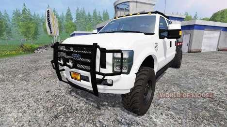 Ford F-350 [diesel] para Farming Simulator 2015