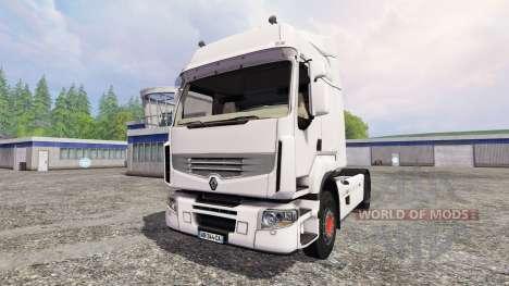 Renault Premium 460 v2.0 para Farming Simulator 2015