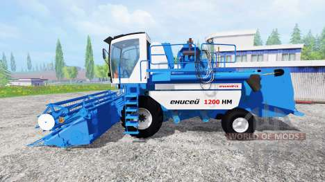 Yenisei-1200 1НМ para Farming Simulator 2015