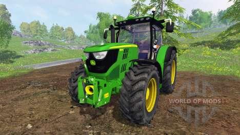 John Deere 6150R FL para Farming Simulator 2015