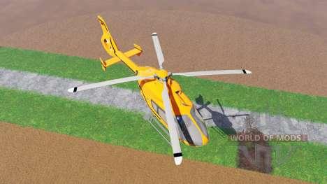 Eurocopter EC145 MedEvac para Farming Simulator 2015