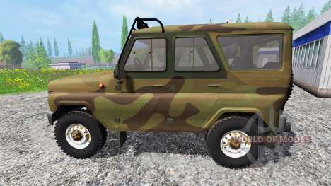 UAZ-315195 hunter para Farming Simulator 2015