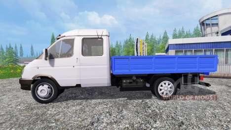 GAZ-331043 Valday para Farming Simulator 2015