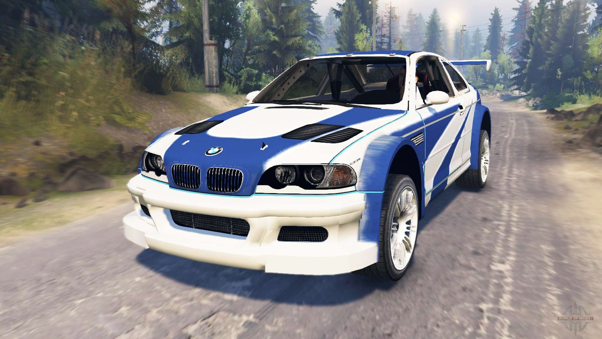 Bmw M3 E46 Gtr Most Wanted Para Spin Tires