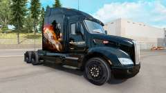 La piel Del Transportador para camión Peterbilt para American Truck Simulator
