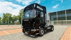 Reloj piel de los Perros para Scania camión para Euro Truck Simulator 2
