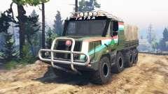 Tatra 163 Jamal 8x8 [update] para Spin Tires